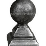 Forged Post Cap
